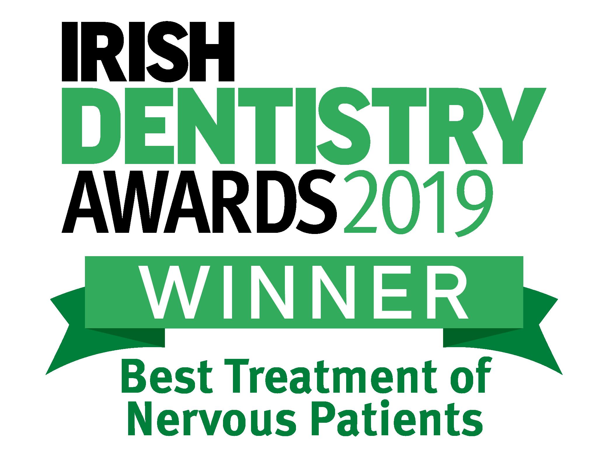 Irish Dentistry Awards 2019 logo